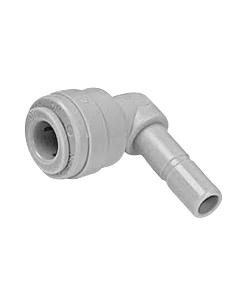 Quick connector 3/8 – 3/8 elbow hose with lug