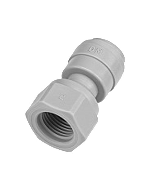Quick connector 3/8 female straight pipe terminal UNF thread 7/16-20