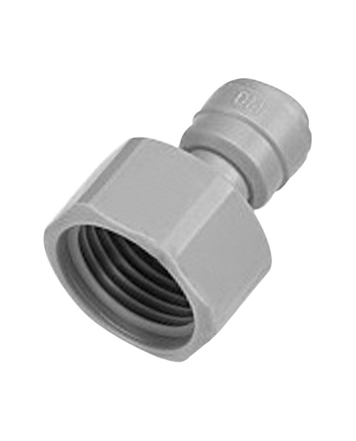 Quick connector 3/8 female straight pipe terminal BSP thread 5/8
