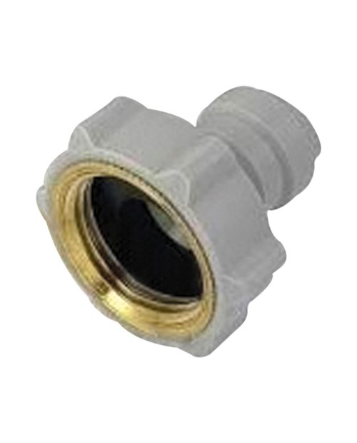 Quick connector straight pipe terminal 3/8 thread NH 3/4