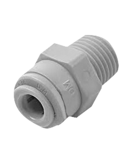 Quick connector 1/2 straight pipe terminal conical thread