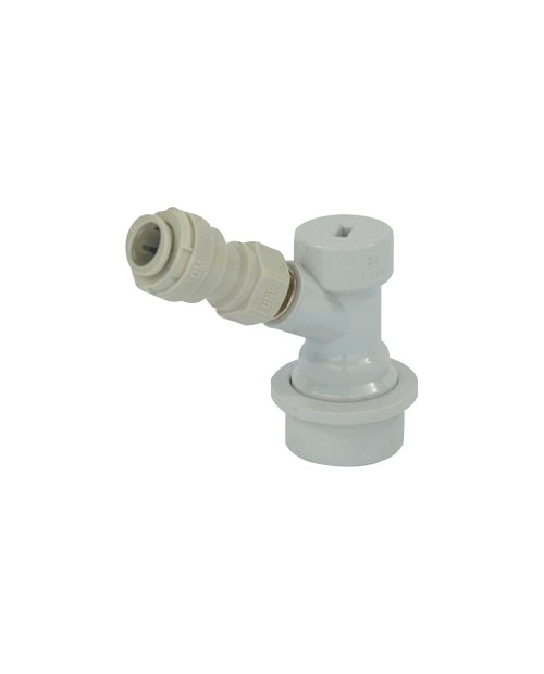 Jolly head for CO2 with quick connector