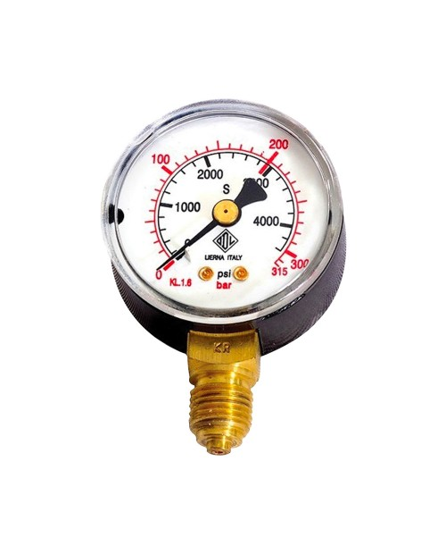 Pressure gauge clock 315 bar
