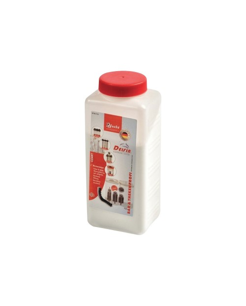 Detergent for glasswashers and brushes