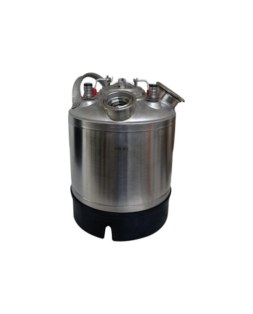 Washing keg 9l - with type S connector – slide and joker connector to suire Coca Cola couplings