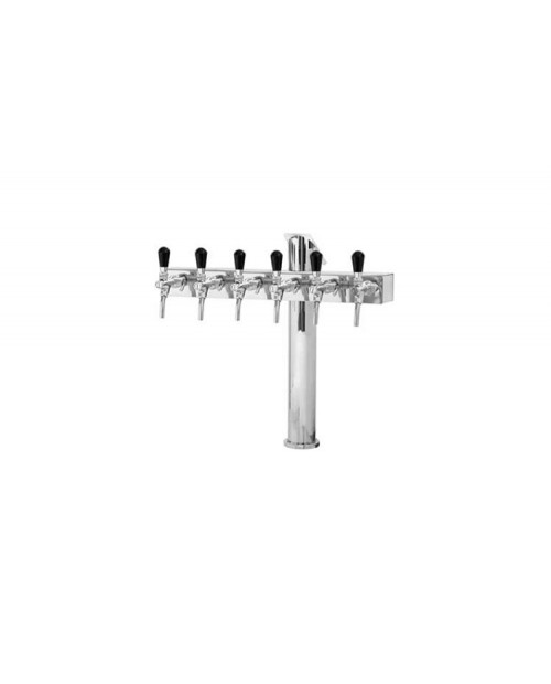 T-shaped column - 6-way taps only